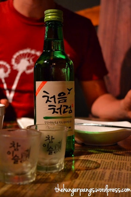 Chum-Churum Soju (15.0 a bottle)